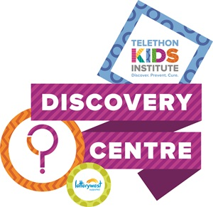 Telethon Kids Institute Discovery Centre logo