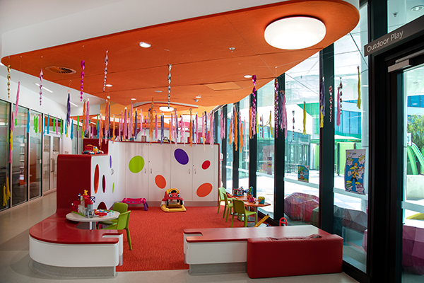 Image of the toddler play area on Fun on Four at PCH