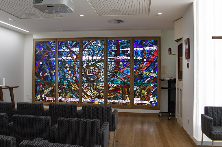 Multi faith Centre window